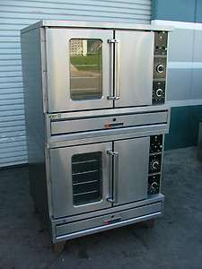 GARLAND DOUBLE STACKED ELECTRIC CONVECTION OVEN  MODEL TTE4