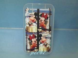 Mickey&Minnie 4 Hard Cover Case iPod Touch 4th w/GIFT