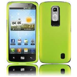 VMG LG Nitro HD Hard Case Cover 2 ITEM COMBO   NEON BRIGHT GREEN Hard