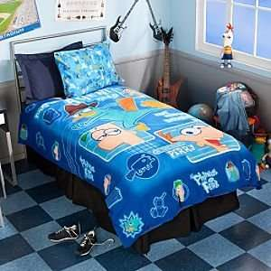 Disney Phineas and Ferb Duvet Cover   Twin