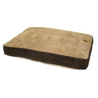 Precision Pet Products Gusset Suede Pillow Dog Bed in