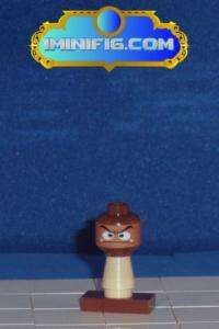 Custom LEGO Super Mario game figure Goomba