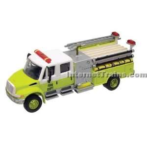 Boley HO Scale International 4300 2 Axle Crew Cab City Fire