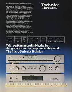 paperink id ads9020 1979 technics micro series fm am stereo tuner