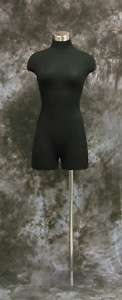 FEMALE MANNEQUIN FULLY PINNABLE DRESS FORM BLK #3