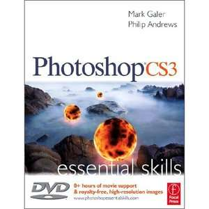 Photoshop CS3 Essential Skills [With DVD], Galer, Mark