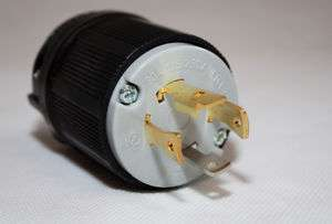 L14 30P 30 Amp Generator Power Cord Plug, Up To 7.5kW