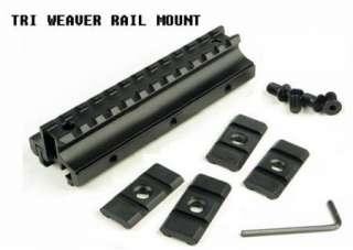 Multifunctional 22mm Tri Rail Riser Mount for Rifle Scope Flat Top