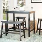 Home Styles Marble High Top Bistro Table and Stool Set