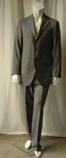 HICKEY FREEMAN Mens Grey Jacket Blazer Suit NEW 42/34