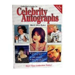 Collectors Guide To Celebrity Autographs Book Toys & Games