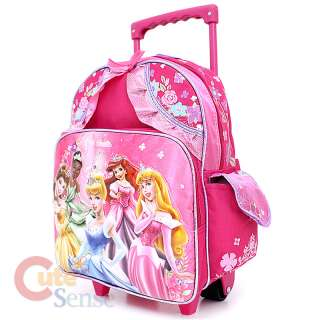 Disney Princess School Roller Backpack/Bag Medium  Magical Dream