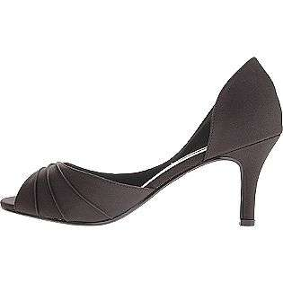 Nadia   Black Satin  Touch Ups Shoes Womens Evening & Wedding