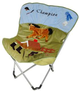 Kids Western Chair Cowboy Horse Room Accessory New