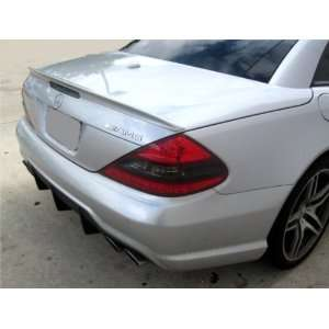 Mercedes SL 2003 2010 AMG Factory Style Spoiler Unpainted