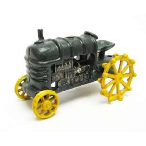 Farmstead Replica Cast Iron Farm Toy Tractor Home & Kitchen