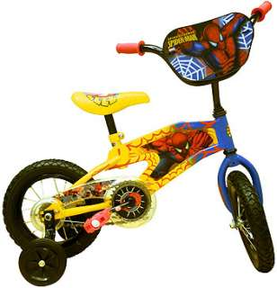 Street Flyers 12 inch Spider Man BMX Bike   Boys   Yellow   Street