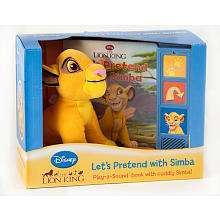 Disney Lion King Simba Plush Toy and Sound Book   Publications INTL