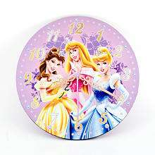 Disney Princess Wall Clock with Decals   Berger M Z & Company   Toys