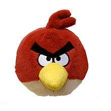 Birds 8 inch Plush with Sound   Red   Commonwealth Toys