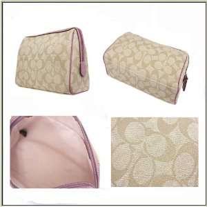 COACH Authentic Signature Medium PVC Cosmetic Case Bag