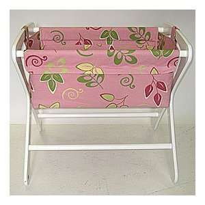 Pink Whimsy Cariboo Classic Bassinet Bag Baby