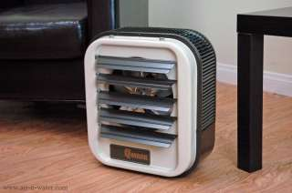 Mark MUH0521 Electric Utility Heater Offers Adjustable Louvers to