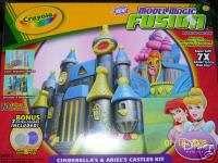 Crayola Model Magic Fusion Cinderella Ariel Castle Kit