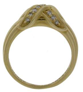 Tiffany & Co Signature 18K Yellow Gold Ring