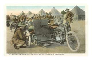 Armored Motorcycle with Machine Gun Posters at AllPosters