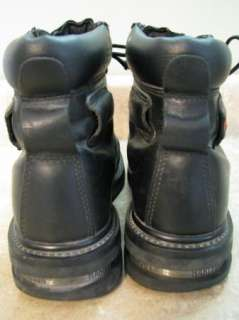 HARLEY DAVIDSON Lace Up MOTORCYCLE BOOTS 88370 sz 8.5 M