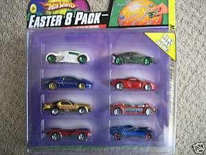 Hot Wheels EASTER 8 PACK Play Mat NIP