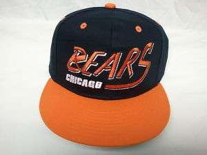 Chicago Bears Flatbill Snapback Adjustable NFL Cap