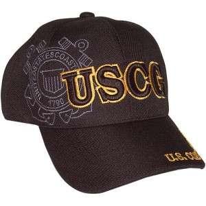 USCG, COAST GUARD,HOMELAND SECURITY,BLACK,HAT,CAP