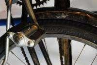 Vintage 1955 Schwinn Deluxe Hornet balloon tire bicycle bike black red