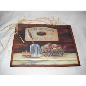 Soaps Primitive Country Bathroom Sign Art Bath Signs