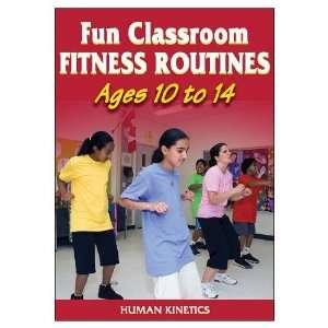 Fun Classroom Fitness Routines Ages 10 14 (DVD): Sports