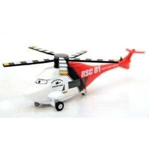 Disney Pixar Cars Rescue Squad Chopper Oversized Cars oon Loose Die