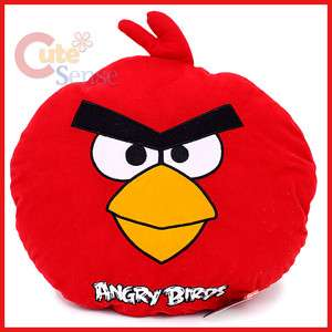 Angry Birds Red Bird Plush Doll Pillow/ Cushion   17 Large Rovio