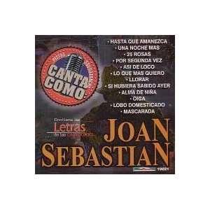 Pistas: Canta Como Joan Sebastian: Grupo Mexico Lindo: Music