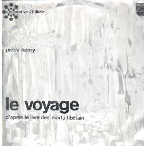 LE VOYAGE LP (VINYL) FRENCH PHILIPS PIERRE HENRY Music