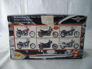 1998 Die Cast Motorcycle Maisto Harley Davidson Ser 2
