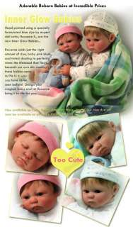 Reborn Baby Pre Painted Reborn Dolls assembled or you assamble and add
