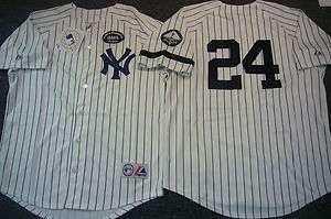 MAJESTIC 2010 New York Yankees ROBINSON CANO SEWN Baseball Jersey WHT