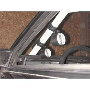 Auto Meter 48004 Black 2 5/8 Roll Pod for 5/8 Roll Cage Automotive