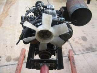 Complete John Deere Yanmar Diesel Engine Lawn Tractor Gator Mower