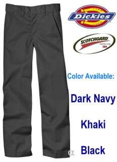 New Dickies SCHOOL UNIFORM BOYS Pants Nwt 4   20 BLACK