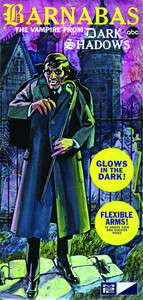 Barnabas Collins Vampire From Dark Shadows Model Kit NEW