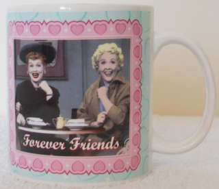 Love Lucy Forever Friends Collectible Quote Mug Mint