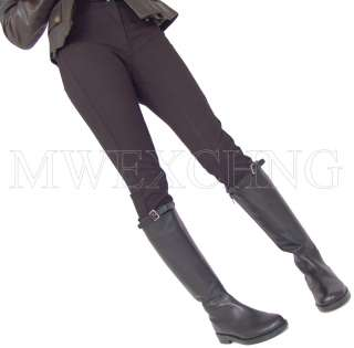 WOMENS LEATHER ITALIAN RIDING STYLE BOOTS EU 38 SHOES SALE